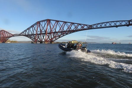 Private Two Hour Bridges and Blackness Castle Sea Safari on the Forth for up to Five