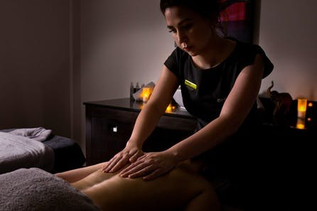 Soothing Half Pamper Day with Deep Tissue Back Massage at Bannatyne Health Clubs