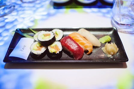 Sushi and Sake Masterclass for Two at Inamo, London