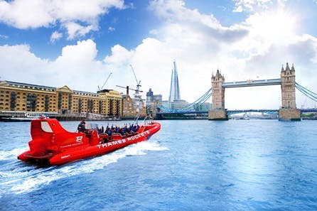 Thames Rocket Speed Boat Ride for Two