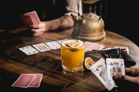 Theatrical Cocktail Experience for Two at Moonshine Saloon, Western Immersive Bar
