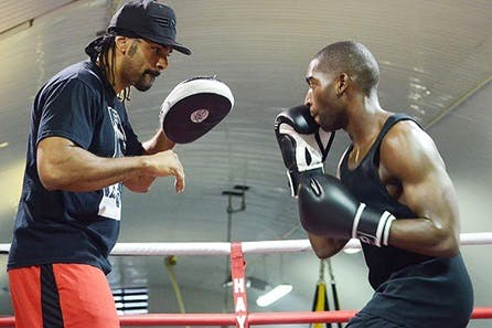The Hayemaker Ultimate Training Morning with 121 Session in the Ring with David Haye