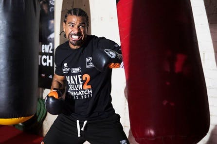 The Hayemaker Ultimate Training Afternoon with 121 Time in the Ring and Post Session Drinks with David Haye