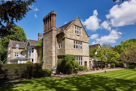 Three Course Dinner for Two at the Luxury Ockenden Manor Hotel