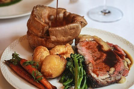 Sunday Lunch for Two at Gordon Ramsay's Savoy Grilll