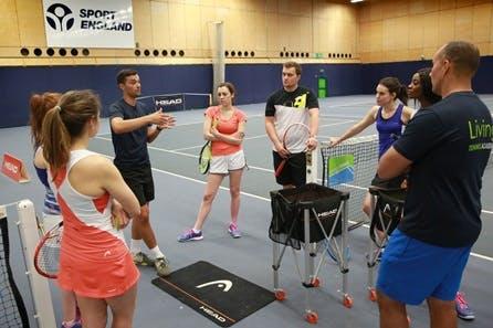 Three Hour Tennis Coaching Clinic at Bisham Abbey National Sports Centre