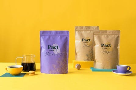Three Month Subscription of Award Winning Pact Coffee