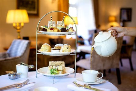 Traditional Afternoon Tea for Two at The Greenway Hotel and Spa