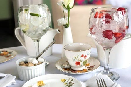 Traditional Afternoon Tea with Gin for Two at Highfield Park Country Manor House Hotel