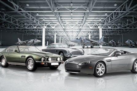 Triple Aston Martin Driving Blast with High Speed Passenger Ride