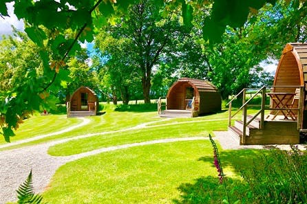 Two Night Glamping Pod Break in Devon