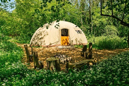 Two Night Midweek Break in a Luxury Persian Tent for up to Five at Penhein Glamping