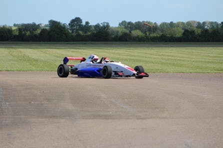 Two Seater Racing Car Passenger Ride
