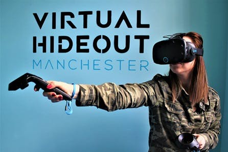 VR Experience for Four at Virtual Hideout Manchester