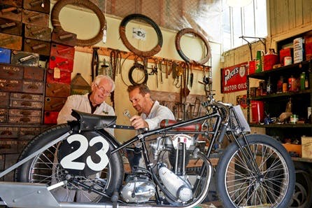 Visit to Brooklands Motorsport and Aviation Museum with Tea and Cake for Two