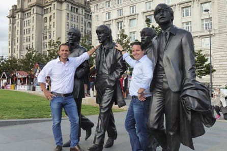 Visit to Radio City Tower and Beatles Guided Walking Tour for Two