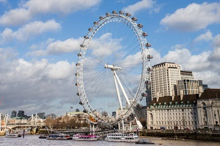 Visit to the London Eye and Bottomless Pizza at Gordon Ramsay's Street Pizza for Two