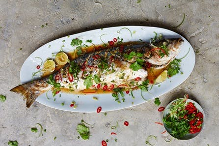 We Love Fish Class at Jamie Oliver's Cookery School