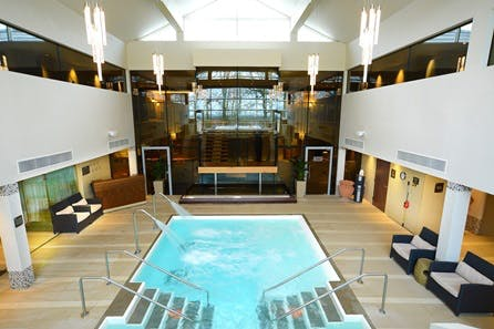 Weekend Aqua Thermal Journey with Lunch or Afternoon Tea for Two at Ribby Hall