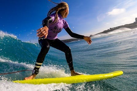 Weekend of Surf Coaching in Newquay with Women + Waves