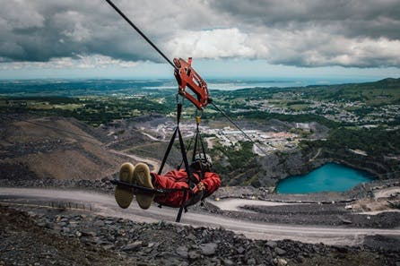 Zip World Velocity - The Fastest Zip Line in the World