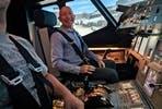 120 minute Airbus A320 Flight Simulator