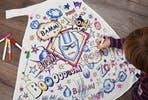 Children's Colour-In Creative Kit - Super Hero Cape