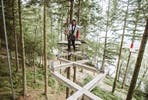 Fforest Zip Safari at Zip World for Two
