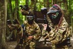 Forest Paintballing Day for Four With Pizza Hut Lunch