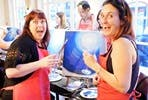 Get Creative with a Fun Painting Class for Two at Brush Party