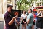 Hero and Superhero Film Walk of London for Two