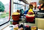 One Night Edinburgh City Break and Sparkling Afternoon Tea Vintage Bus Tour for Two