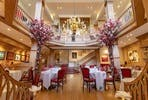 Private Dining with Signature Four Course Tasting Menu and Champagne for Two at the Prestigious Mosimann's Dining Club