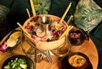 Spirit of Tiki Three Course Thai Brunch and Free Flowing Cocktails for Two at Laki Kane
