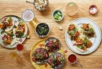 Three Course Taco Experience Dinner with Margaritas for Two at Corazon, London