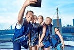 Up at the O2 Climb with Thames Clippers River Roamer for Two
